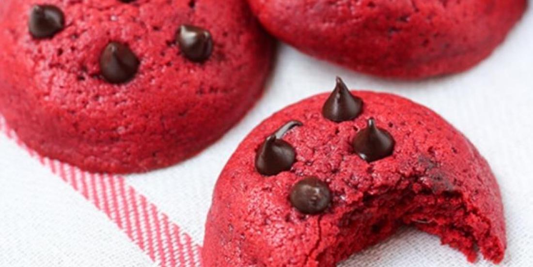 Biscuit aux Brisures de Chocolat Red Velvet