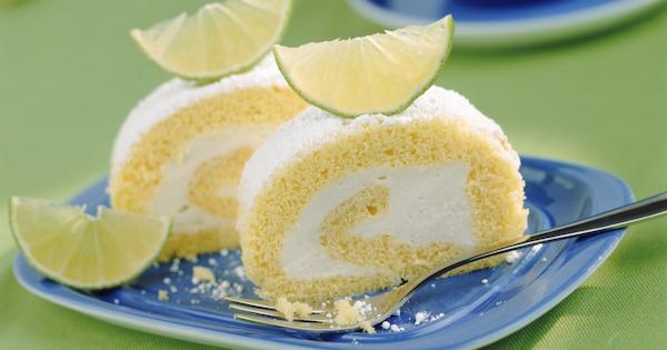 Biscuit Roulé à la Crème de Citron