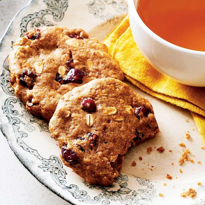 Biscuits à L'avoine, aux Dattes et aux Canneberges sans Lactose