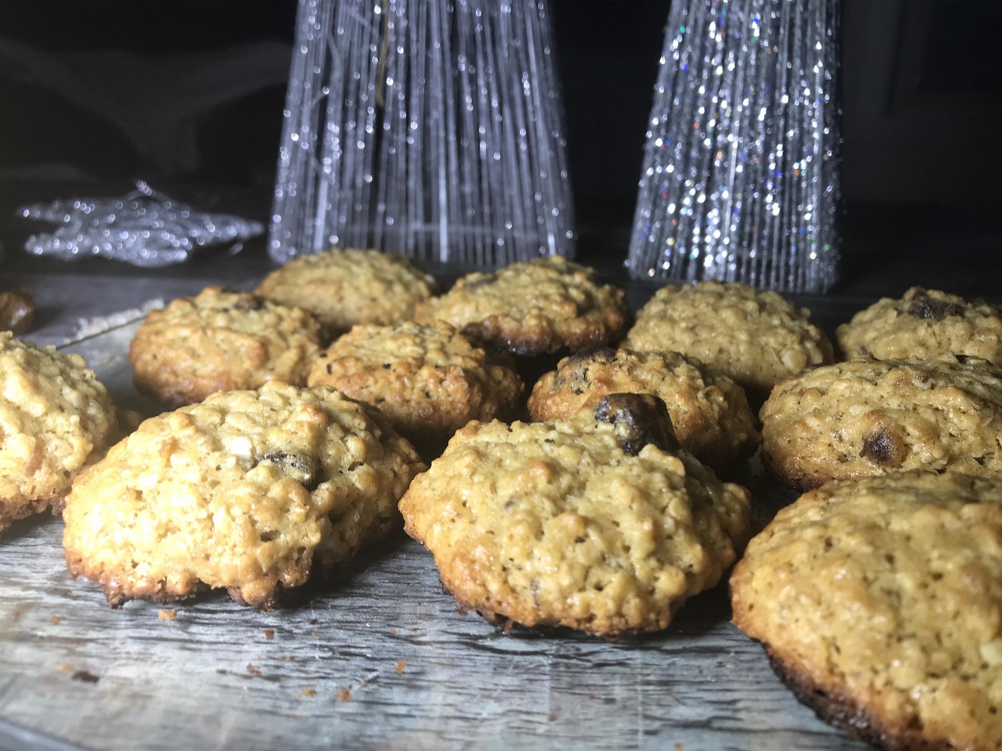 Biscuits à L'avoine et Dattes