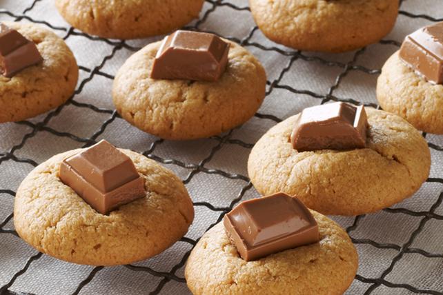 Biscuits au Beurre D'arachide et au Chocolat