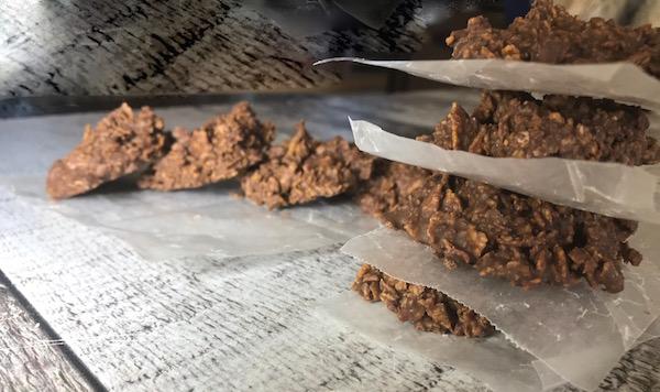 Biscuits au Corn Flakes Beurre D'arachides et Chocolat 3