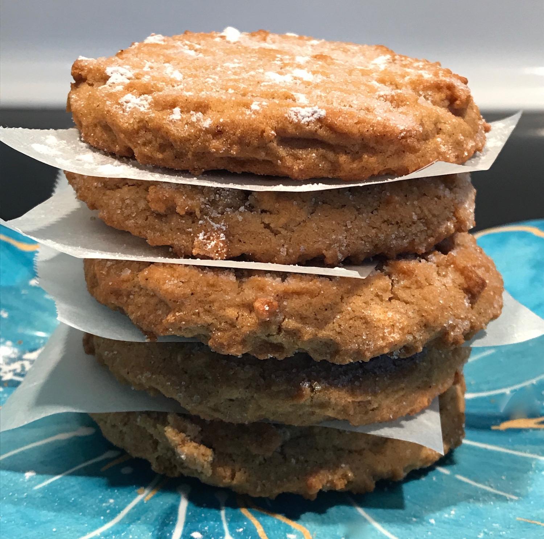 Biscuits au Gingembre et Fraises