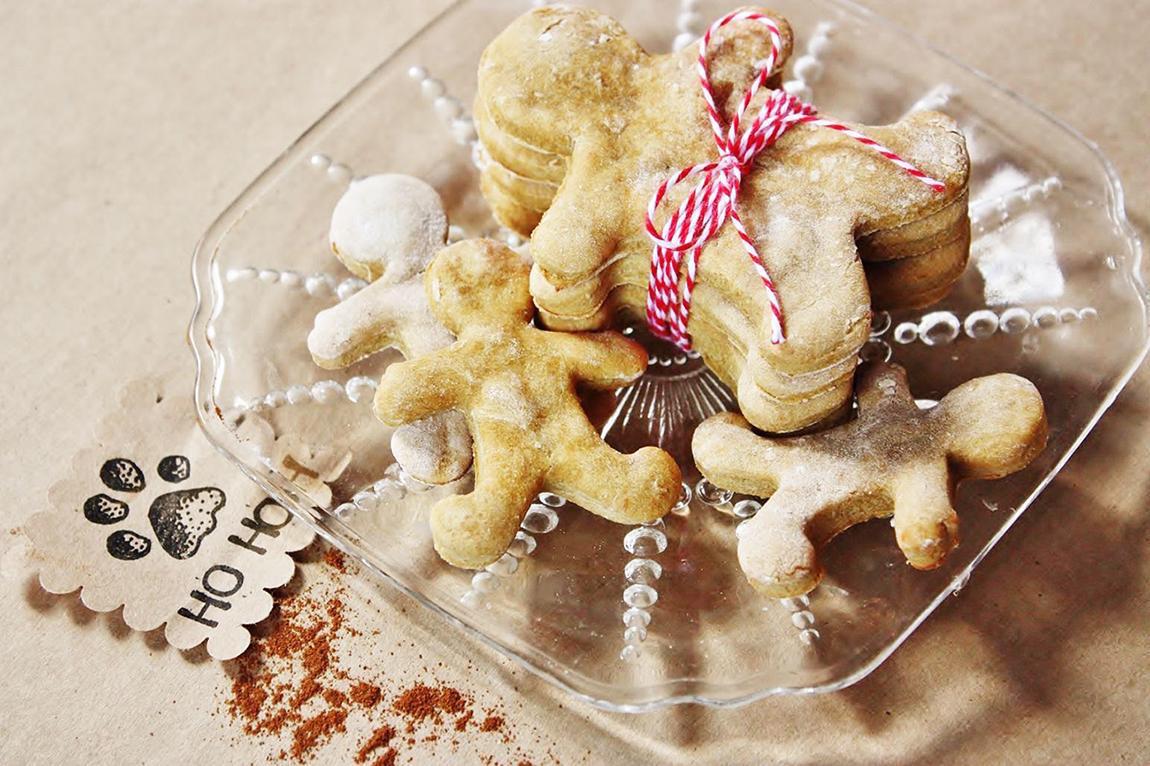 Biscuits au Pain D'épice pour Chiens