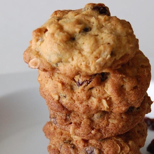 Biscuits au Son, Carottes et Raisins