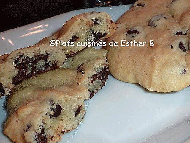 Photo Recette Biscuits au Yogourt et aux Pépites de Chocolat
