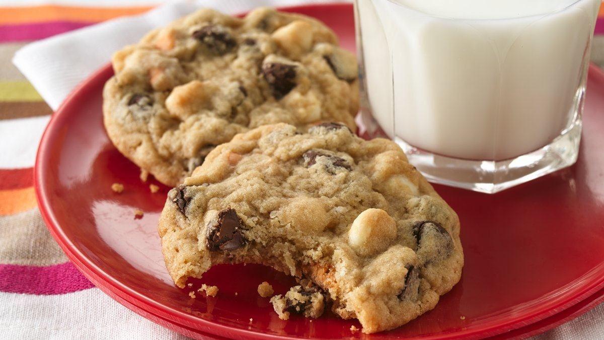 Biscuits aux Triples Brisures de Chocolat