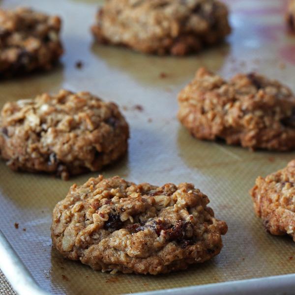 Biscuits Avoine et Raisins, Style Dad's