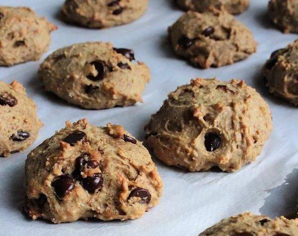 Photo Recette Biscuits Beurre D'arachide, Chocolat et Pois Chiches