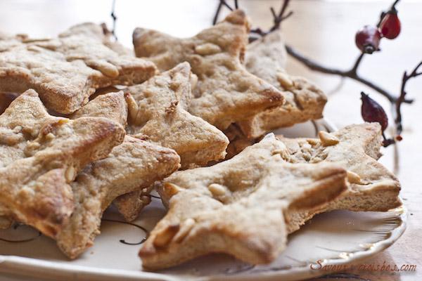 Biscuits de Noël Étoilés aux Parfums de Provence