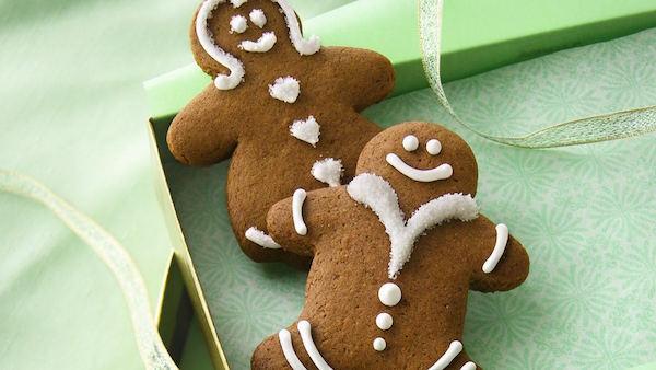 Biscuits en Pain D'épice avec Glace Royale