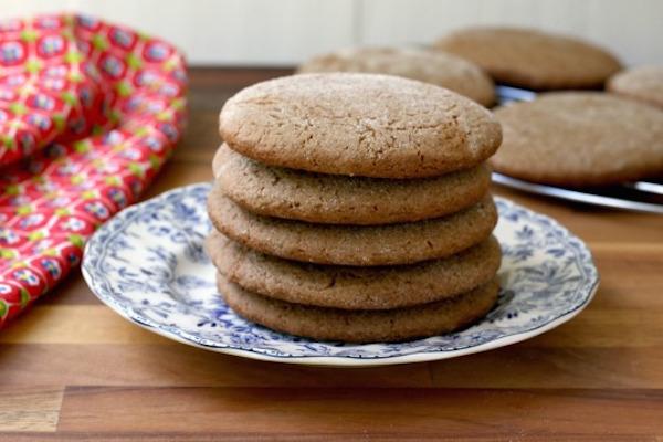 Photo Recette Biscuits Géant à la Mélasse