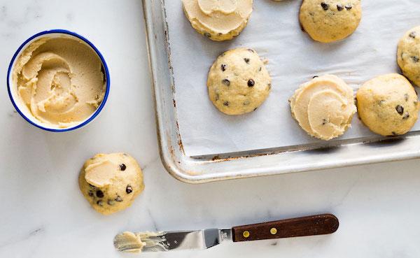 Photo Recette Biscuits Glacés à L'ancienne aux Bananes et aux Pépites de Chocolat