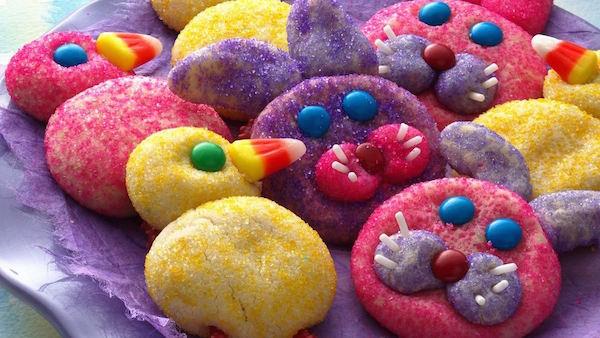 Biscuits Lapins et Poussins de Pâques