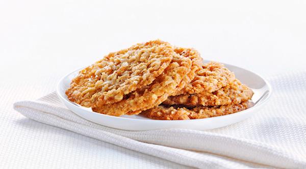 Biscuits Minces à L'avoine