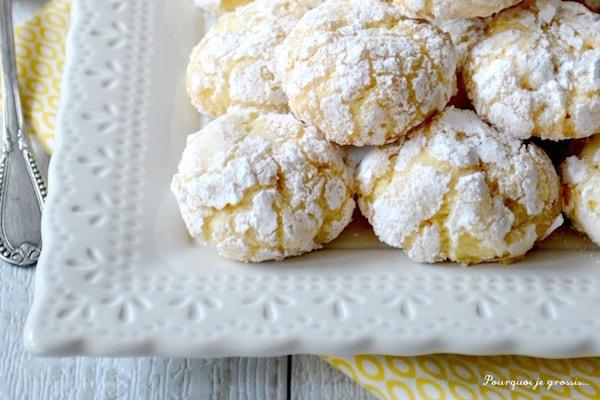 Biscuits Moelleux au Citron Biscotti Morbidi al limone