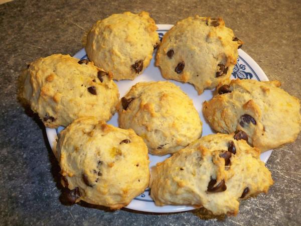 Biscuits Moelleux aux Bananes et Pépites de Chocolat