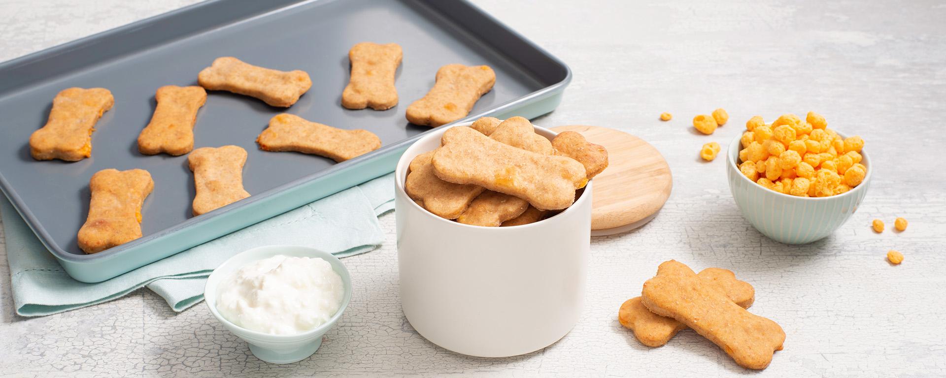 Biscuits pour Chiens au Fromage et Beurre D'arachide
