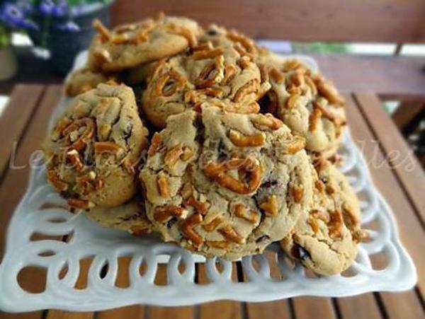 Biscuits Sandwich Double Chocolat et au Beurre D'arachides