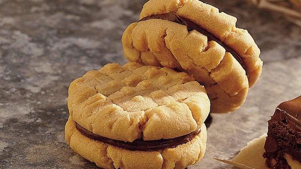 Biscuits Sandwichs au Beurre D'arachide