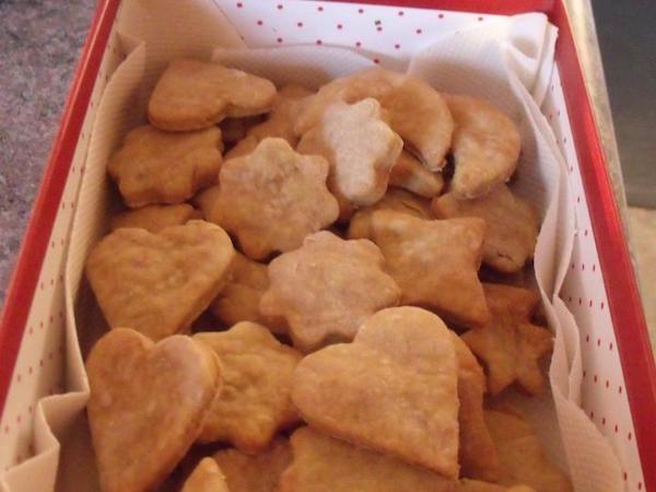 Biscuits Savoureux pour Chiens de Claudine