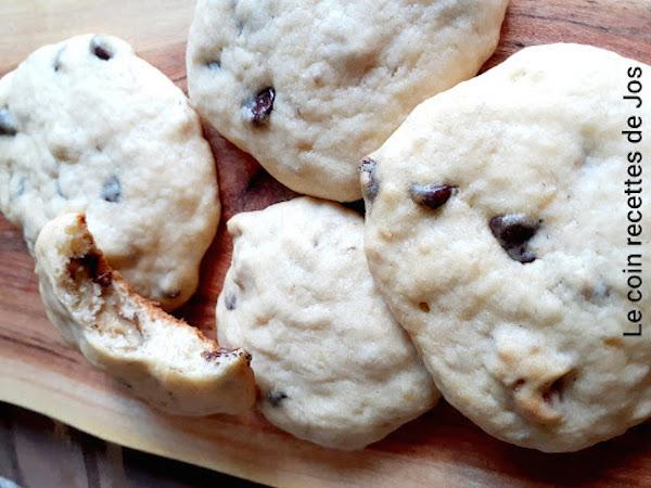 Biscuits Tendres aux Bananes, Noix et Chocolat