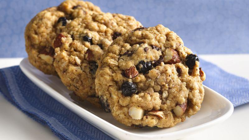 Biscuits Tendres Énergisants aux Bleuets