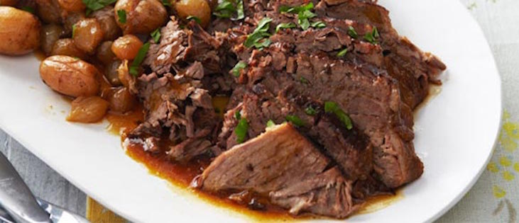 Bœuf aux Légumes du Marché à la Mijoteuse