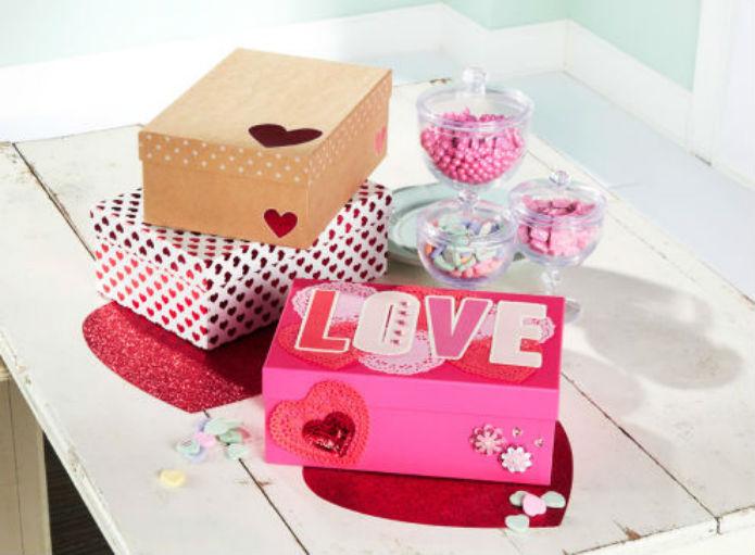 Boîtes de St-Valentin