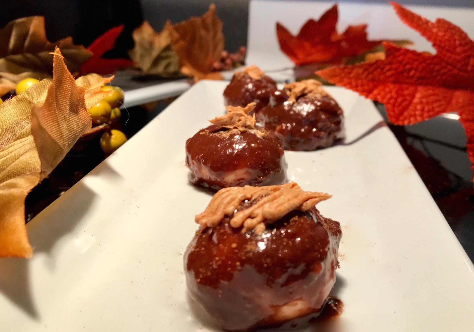 Photo Recette Bonbons D'Halloween au Chocolat Fait Maison