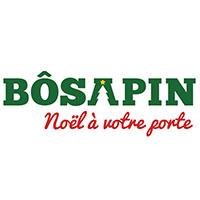 Logo BÔSAPIN Arbre de Noël Livraison à Domicile