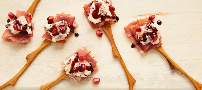 Bouchée de Prosciutto et Fromage à la Crème