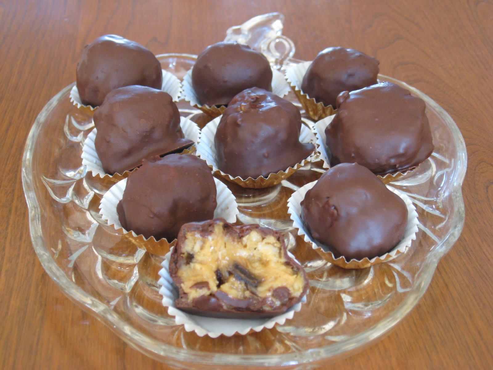 Photo Recette Boules au Chocolat Farcie