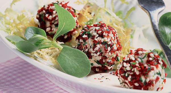 Photo Recette Boulettes de Fromage Panées aux Cranberries