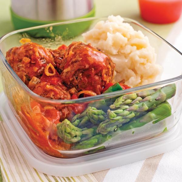 Photo Recette Boulettes de Veau et Porc, Sauce à L'italienne