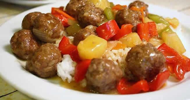Photo Recette Boulettes de Viande aux Pommes de Terre et Poivron avec Cookeo