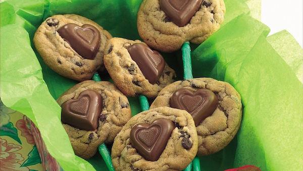 Bouquet de Biscuits Doux Coeur