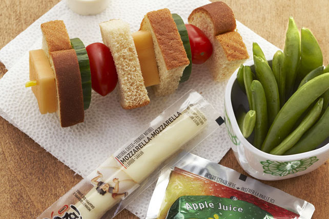 Photo Recette Brochette-Sandwich