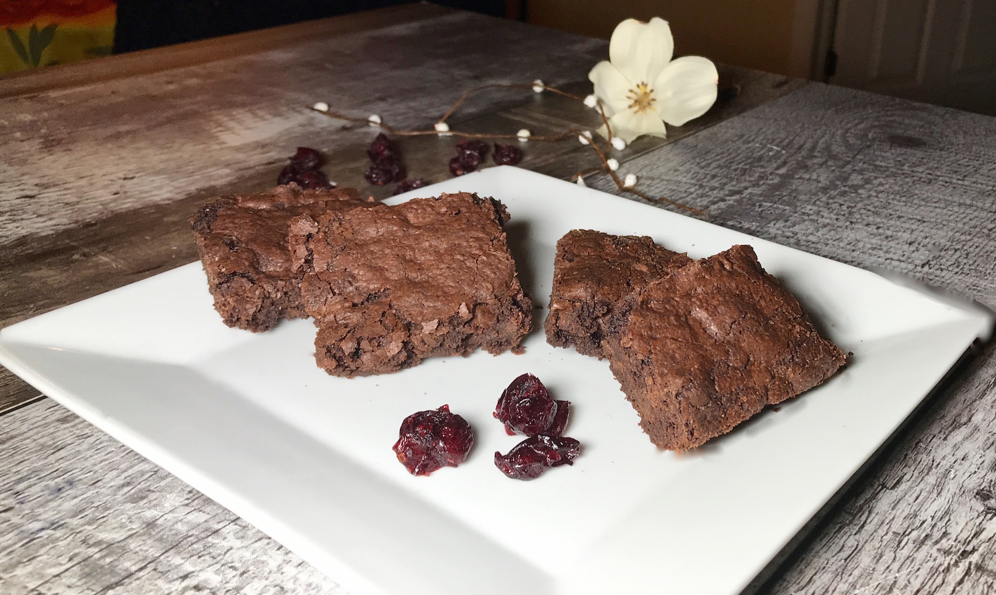 Brownies aux Canneberges