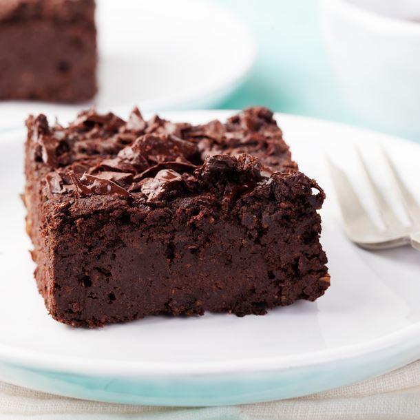 Brownies Végétariens à la Purée de Sésame