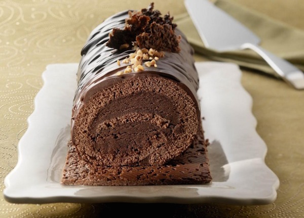 Photo Recette Bûche Croustillante au Chocolat