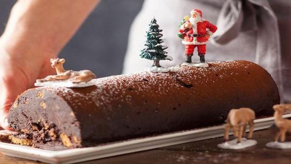 La recette D'une Bûche de Noël Express