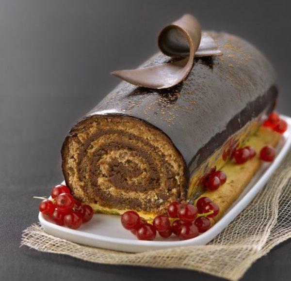 Photo Recette Bûche de Noël très Chocolat