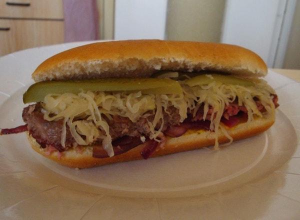 Burger façon Hot Dog