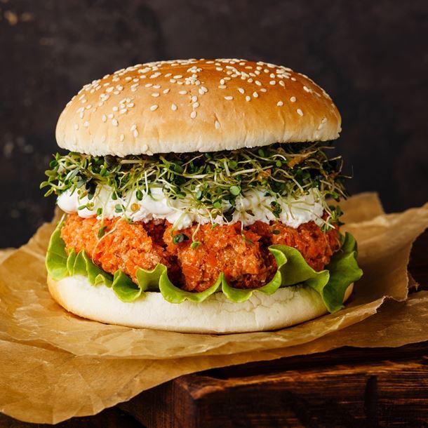 Burger Végétarien au Steak de Carottes