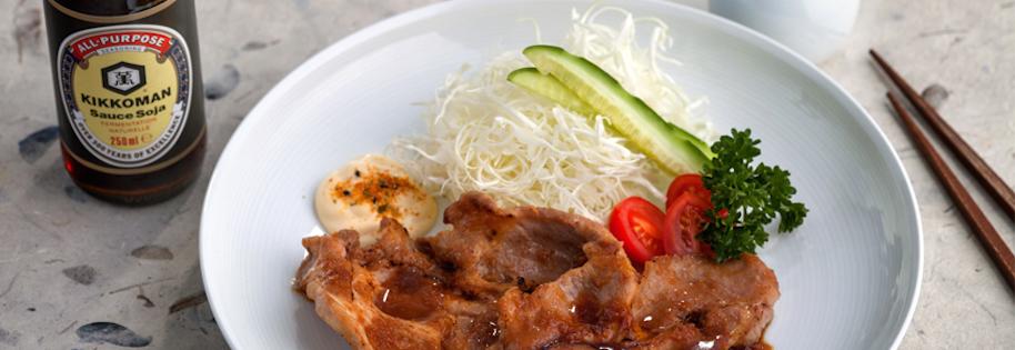 Butaniku no Shogayaki – Porc au Gingembre et Sauce Soja