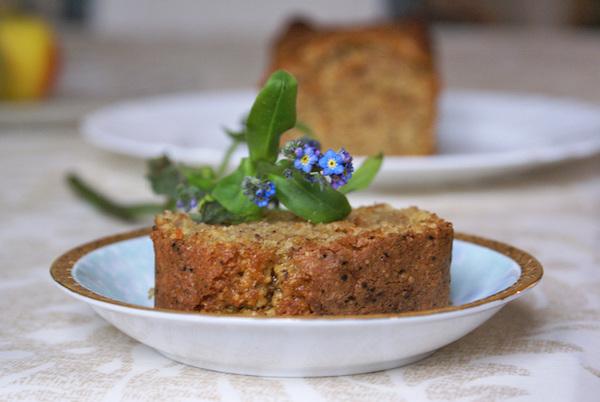 Photo Recette Cake aux Noisettes Grillées & Marmelade {sans gluten, sans lactose}