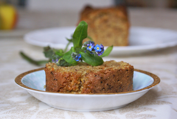 Cake aux Noisettes Grillées & Marmelade {sans gluten, sans lactose}