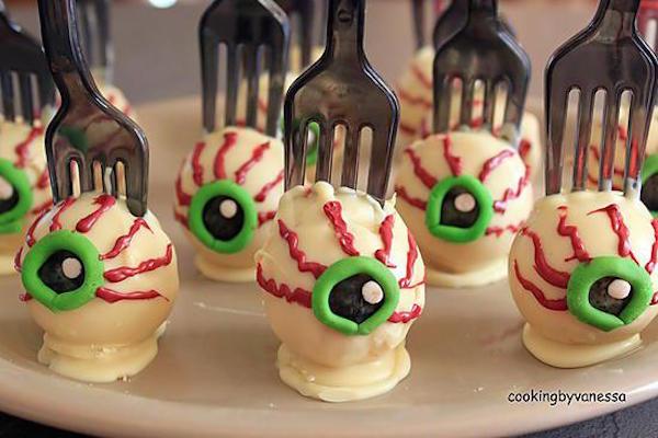 Cakes Pops Spécial Halloween