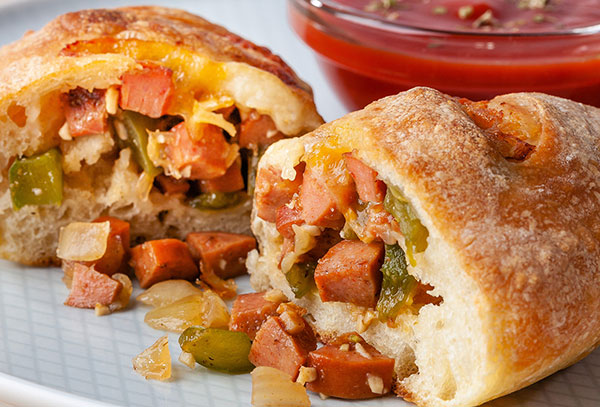 Photo Recette Calzones Tex-Mex